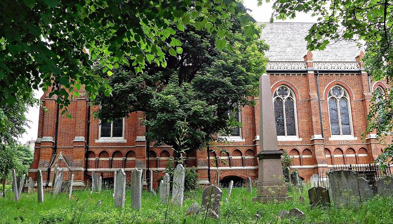 Highgate School chapel and cemetery