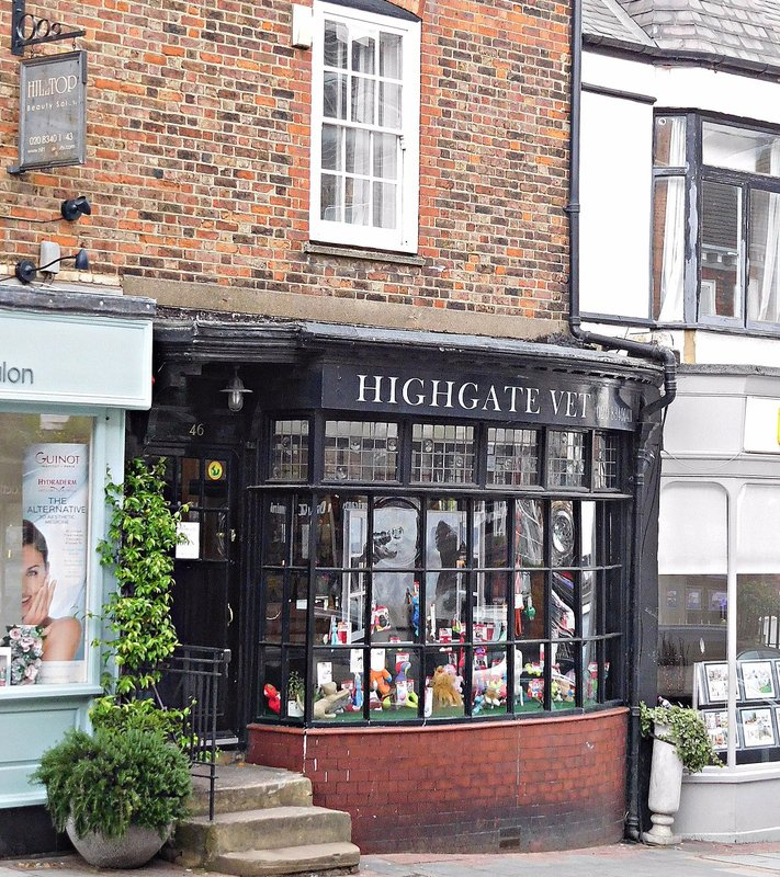 Formerly Fisher and Sperr bookshop Highgate High Street