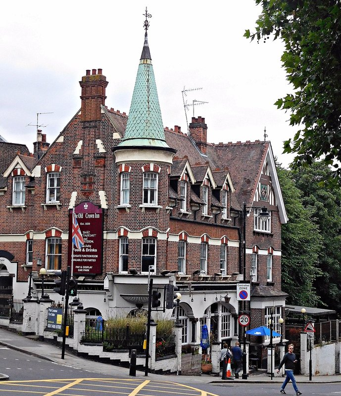 The Old Crown Inn Highgate Hill