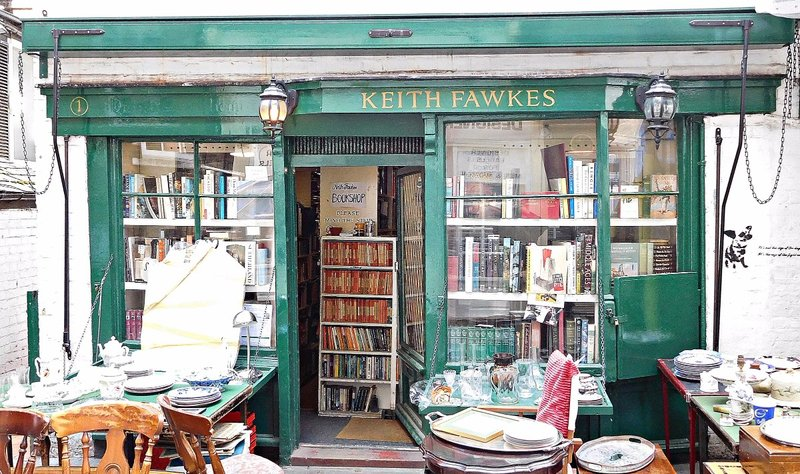 Keith Fawkes bookshop