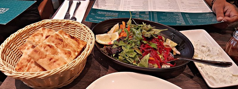 HARRING 0f Gökyüzü Restaurant cmplementary starters