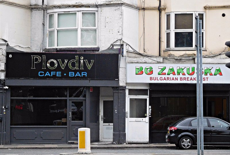 Bulgarian cafes on Green Lanes