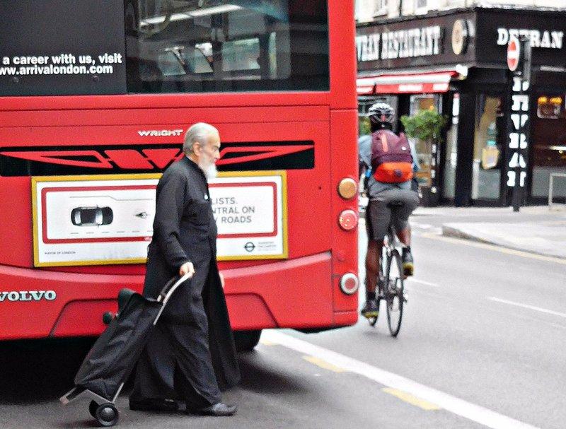 An Orthodox priest Green Lanes