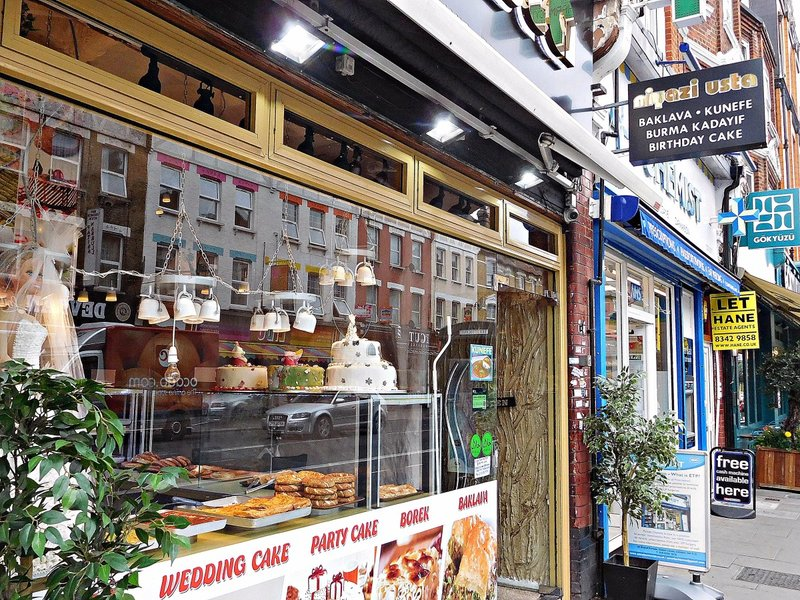 Turkish confectionery shop, Green Lanes