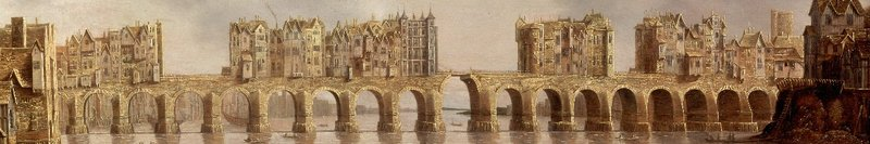 View of London Bridge (17th century) by Claude de Jongh (Source: Google_Art_Project_bridge)