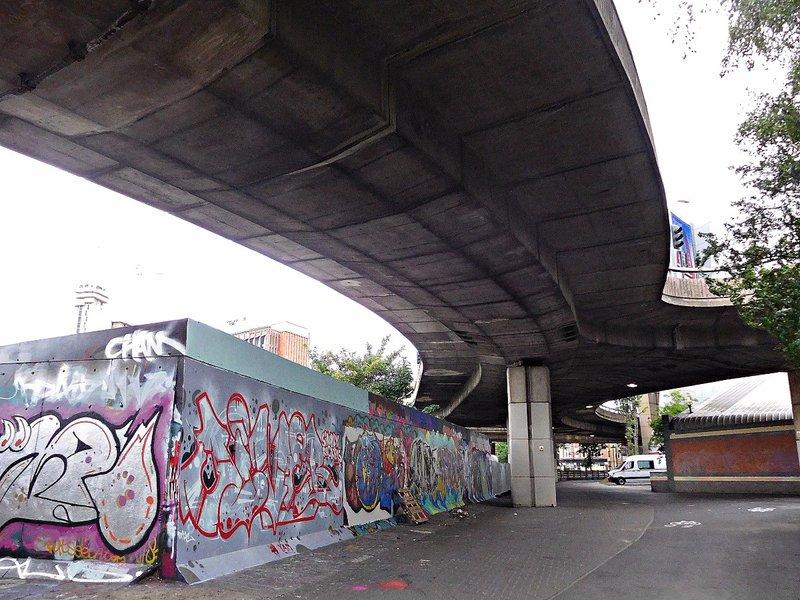 Under Westway / A3220 interchange