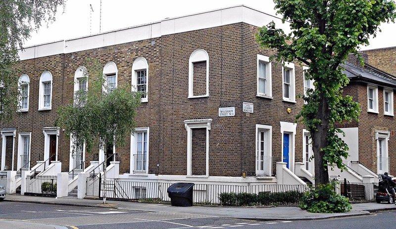Corner of Wilsham Street and St Anns Road
