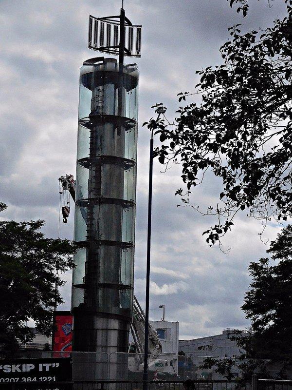 Shepherds Bush water tower