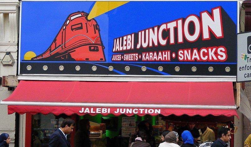 Jalebi junction. Southall