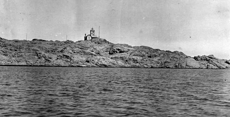 Lüderitz Bay (Namibia) viewed from the sea in early 20th century
