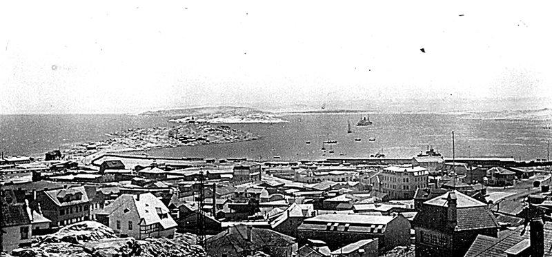 Lüderitz Bay in about 1910