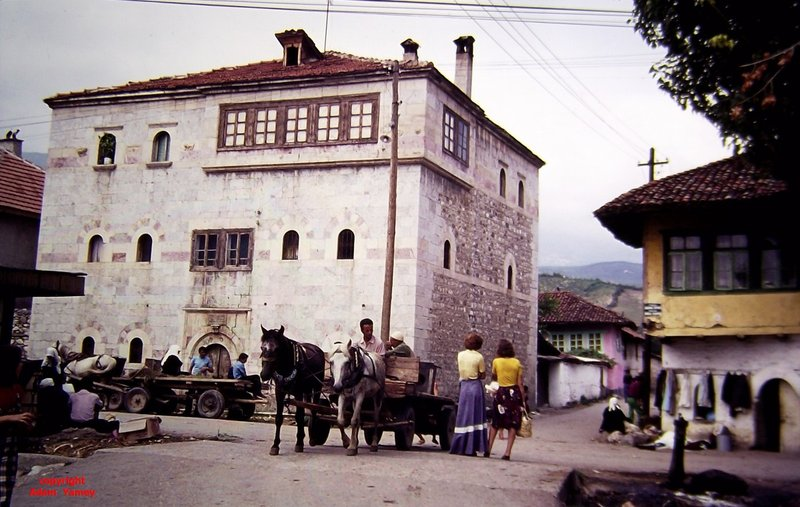 An Albanian 'kulla' or tower house in Peja