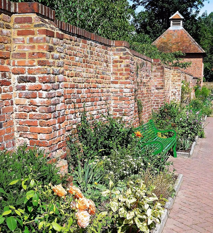 Walled garden and dovecote at Eastcote