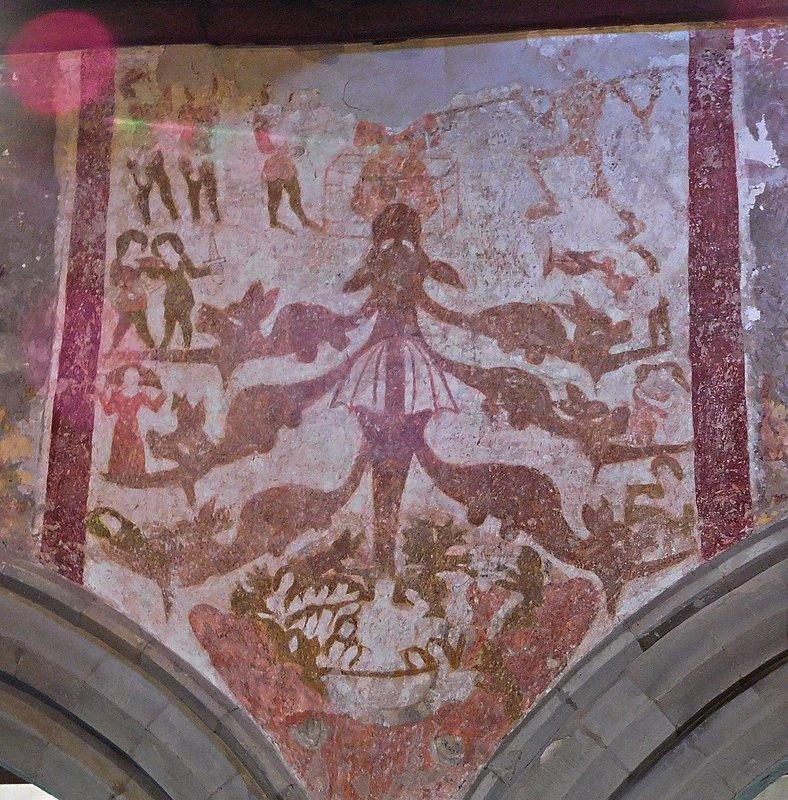 St Martins Ruislip Seven deadly sins