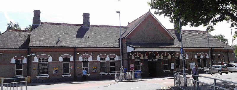 Ruislip Station, built 1904
