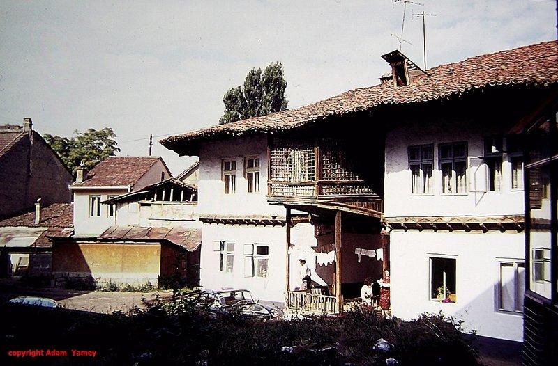 PRIZREN 1975 Balcony with lattice