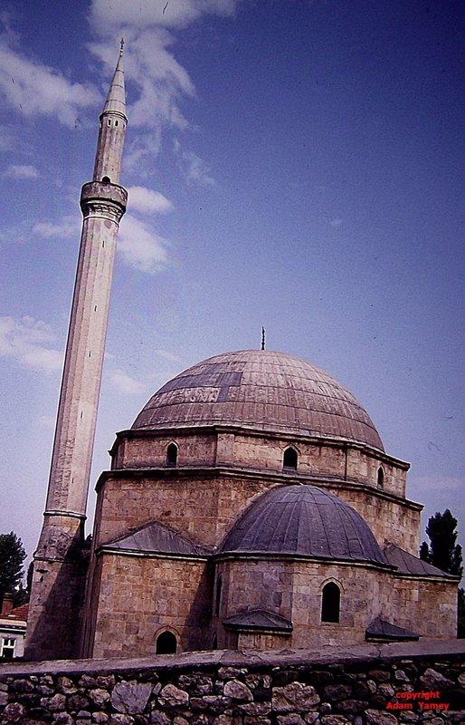 PRIZREN 1975 Mosque minaret