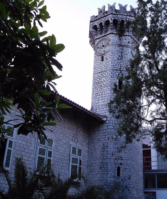 Pagets house and tower in Shkodër