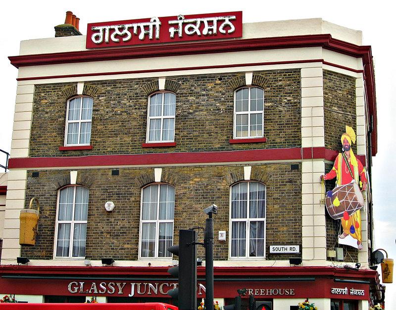 Punjabi 'pinta' in Southall (London)