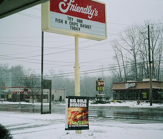 Breakfast in Ithaca. USA