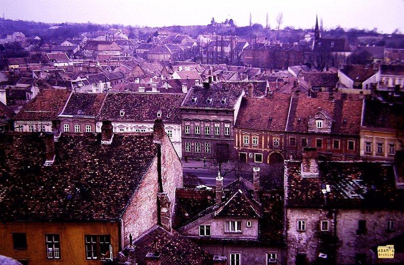 SOPRON 1982 Rooftops