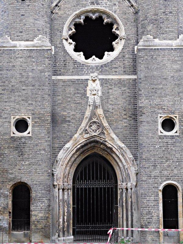 Abney Park chapel detail