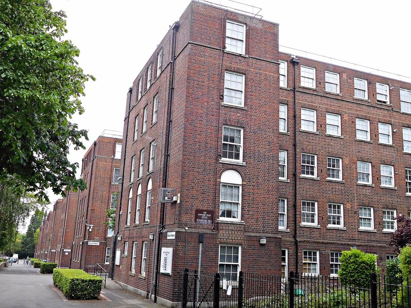 Stamford Hill Guiness Trust Estate Adam House