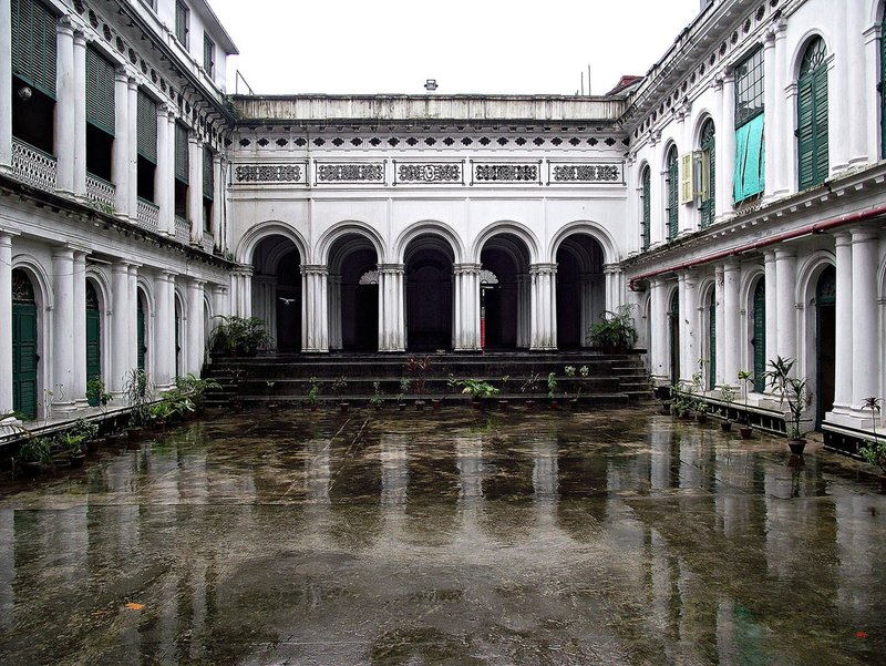 JORASANKO in Calcutta - one of its courtyards