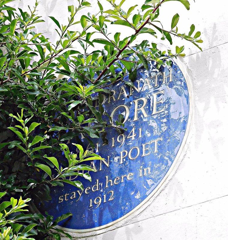 VALE 1 Tagore plaque