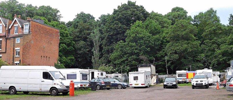 VALE 4b Caravan site