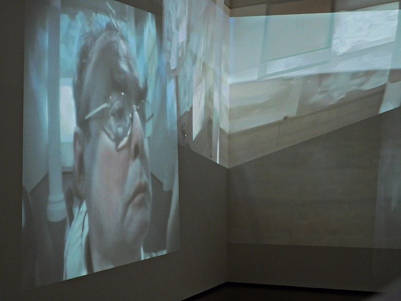 Video installation by Gary Hill at Durbar House