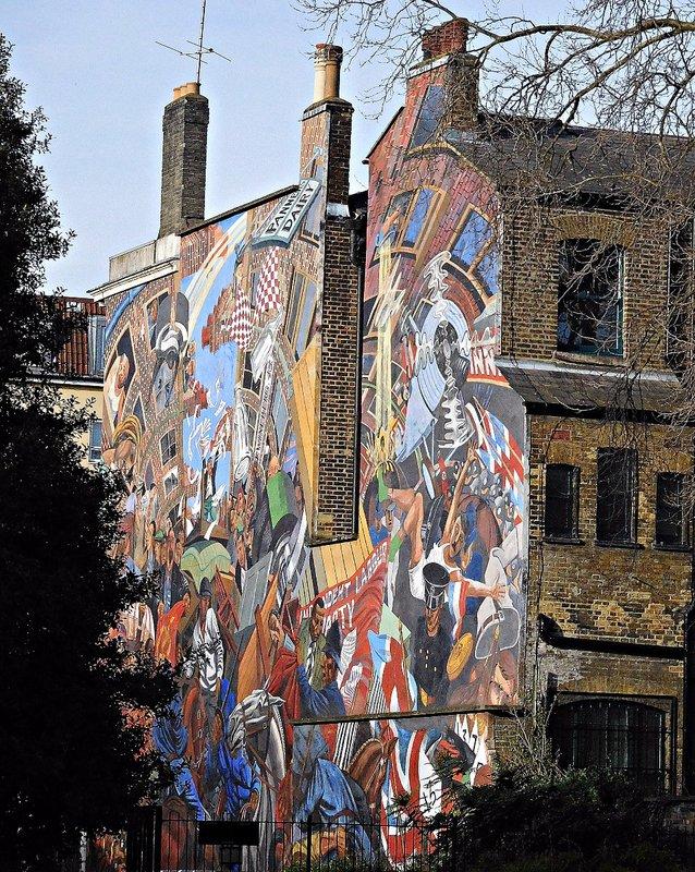 WAPCABL 1 Cable Street mural