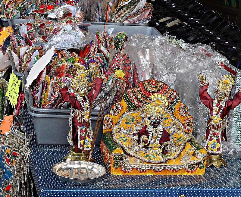 Ealing Road: decorative and devotional objects stall