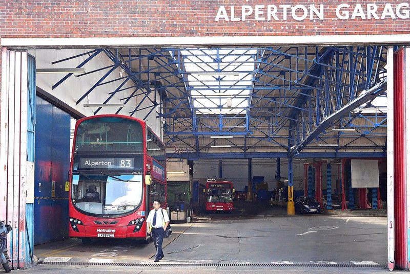 Alperton bus garage