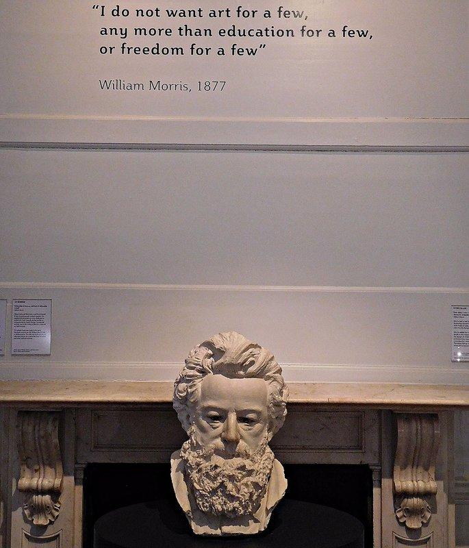 William Morris Gallery: Morris and his 'mission statement'