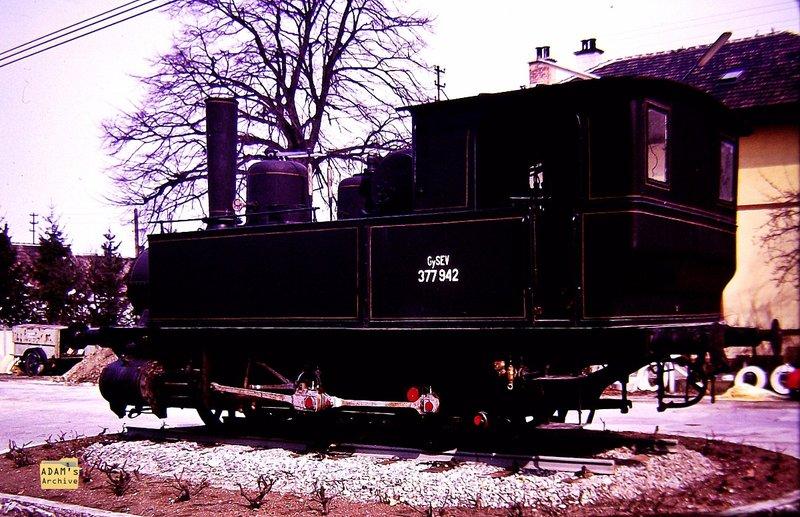 WULKASPRODESDORF  GySEV locomotive