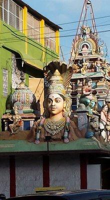 Hindu temple near Commercial Street