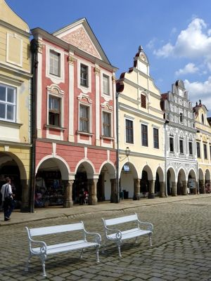 The Main Square - Telc