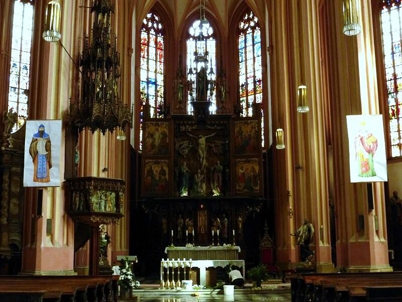 Kostel sv. Morice - Church of St Maurice - Olomouc