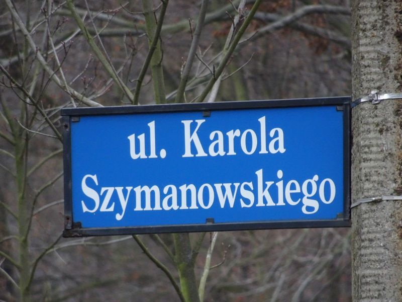 Street Names: Did Chopin have a Sister? - Wroclaw