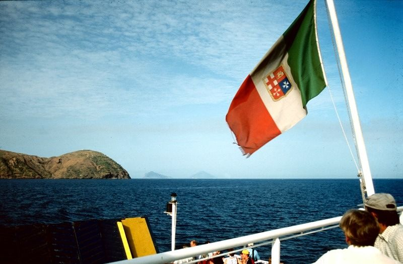 Panarea and Stromboli on the horizon - Sicilia