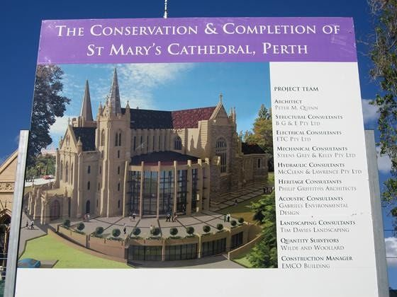 Extension Of The Cathedral St Mary