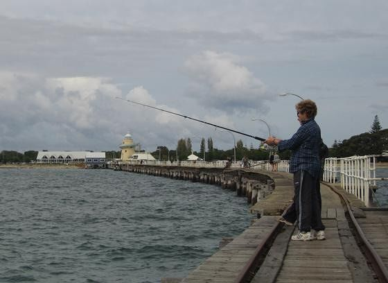 Fishing From The Jetty