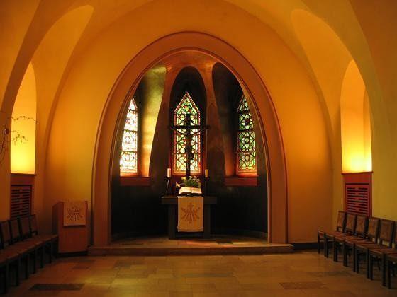Kreuzkirche, Schmargendorf, 1927-1929