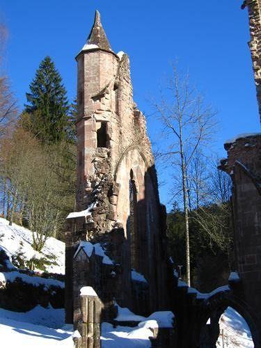 Ruins Of Allerheiligen Monastery