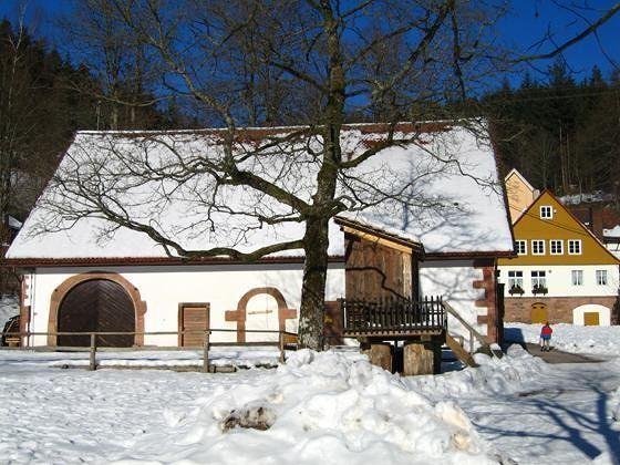 Monastery Barn And Exhibition