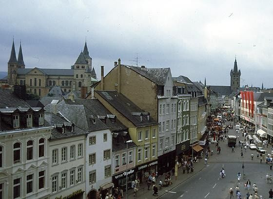 Trier, view with cathedral - Trier