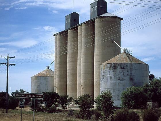 Beulah grain storage - Mildura