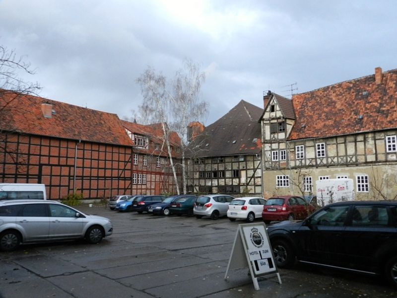There is still work to be done - Quedlinburg