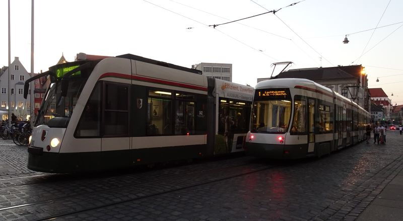 AVV - Augsburg's Public Transport Network
